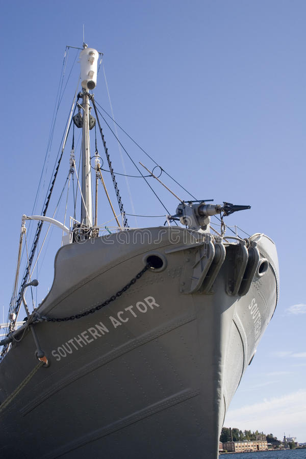 Wielorybi polowanie statek obrazy stock