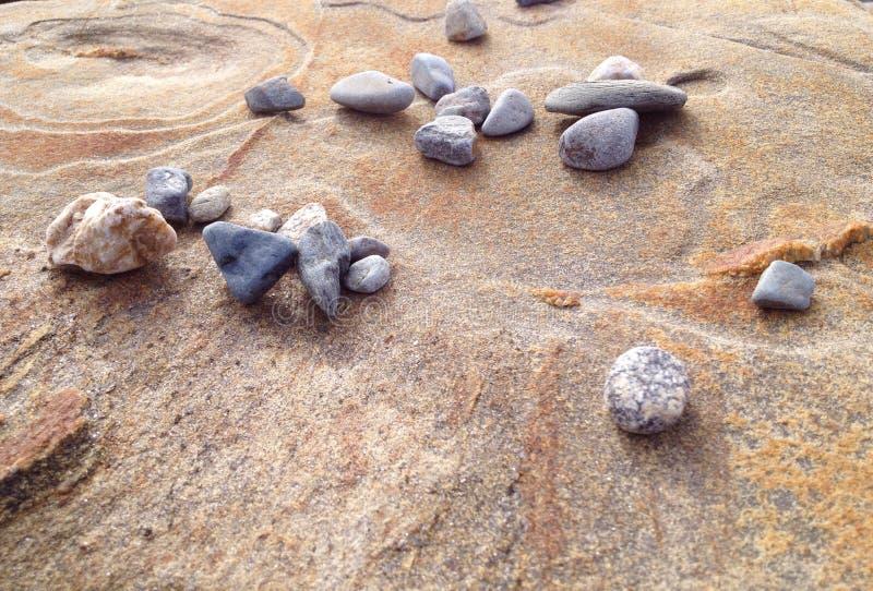 wielu małych kamieni obraz stock