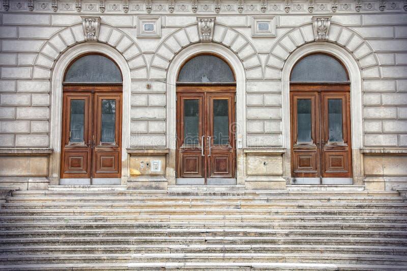 Wien börs royaltyfria bilder