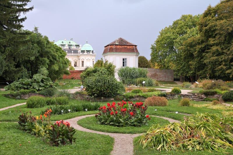 Wien botaniska trädgårdar arkivfoto