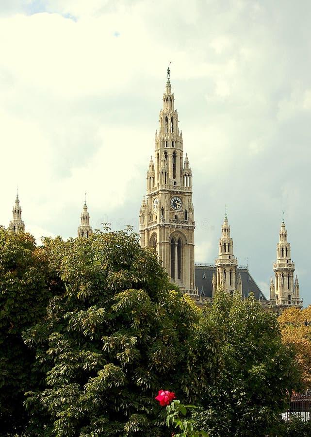 Wien domkyrka royaltyfria foton
