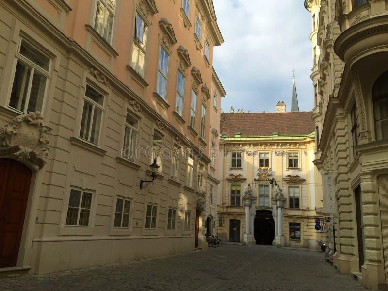 Wien - en av Europa mest besökte städer royaltyfri fotografi