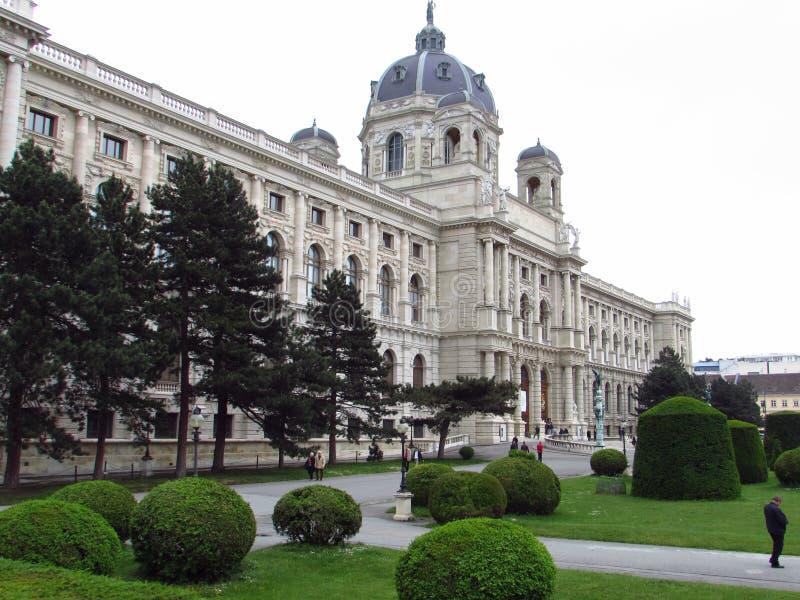 Wien-Gärten lizenzfreies stockbild