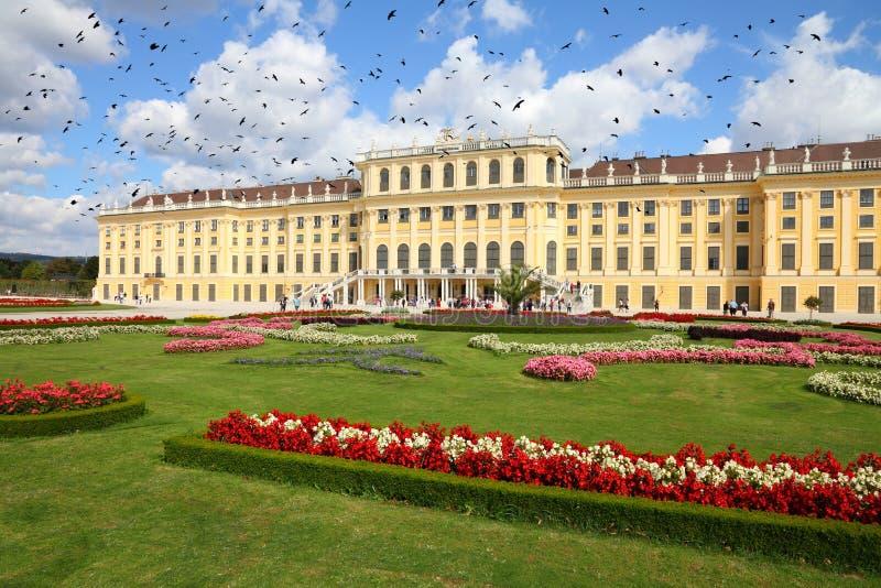 Wien gränsmärke fotografering för bildbyråer