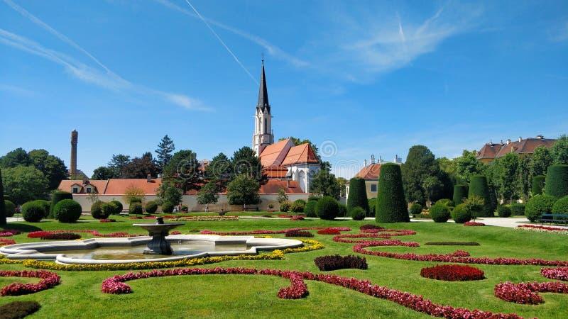 Wien himmel royaltyfri fotografi