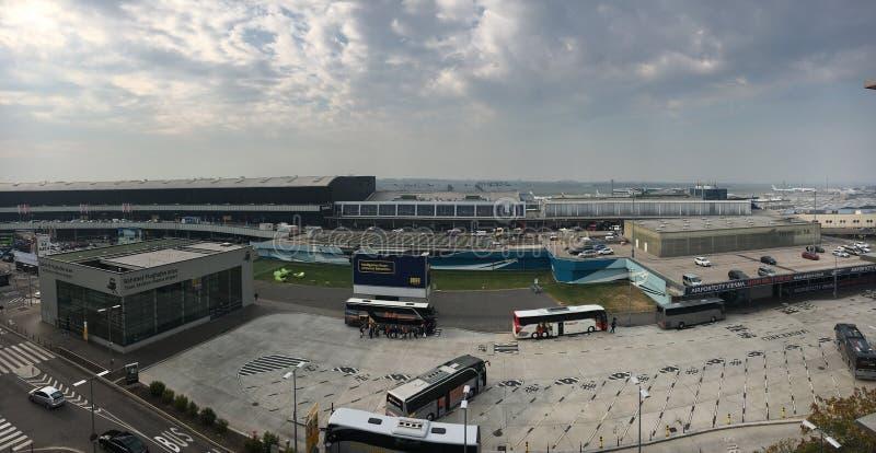 Wien internationell flygplats royaltyfri foto