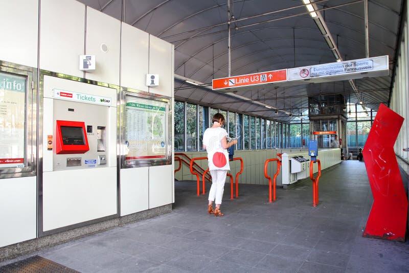 Wien-Metro lizenzfreie stockfotografie