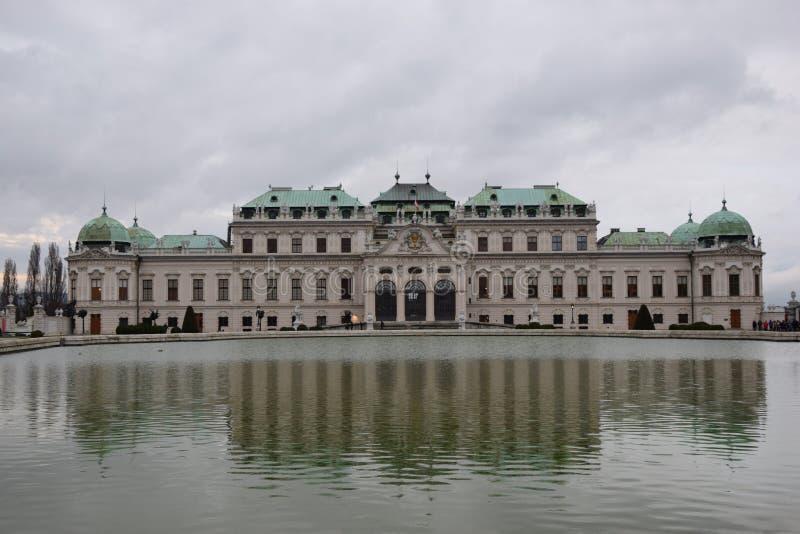 Wien monument royaltyfri bild