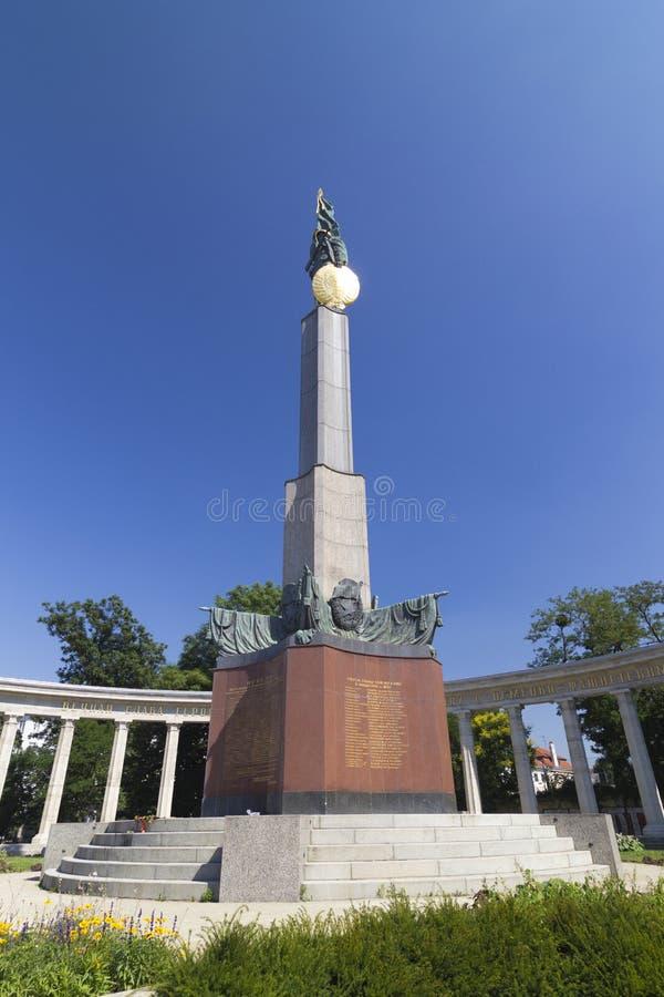 Wien, Monument der roten Armee stockfoto