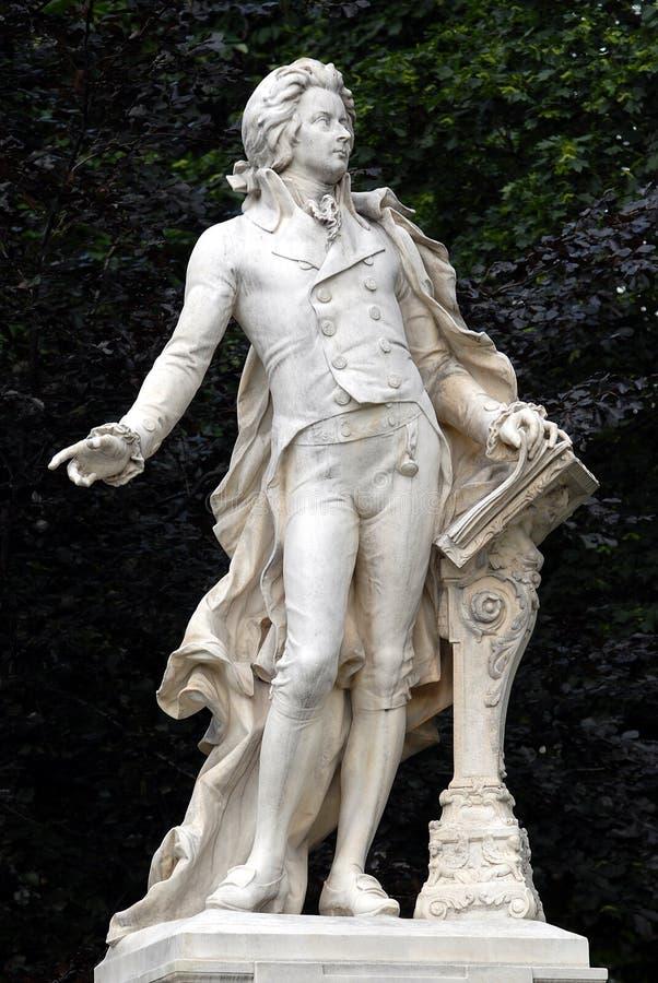 Wien - Mozart lizenzfreie stockfotografie