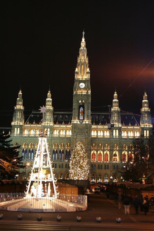 Wien, Rathaus imagenes de archivo