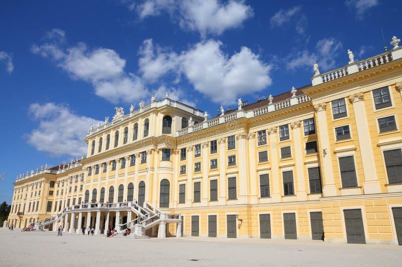 Wien slott royaltyfri foto