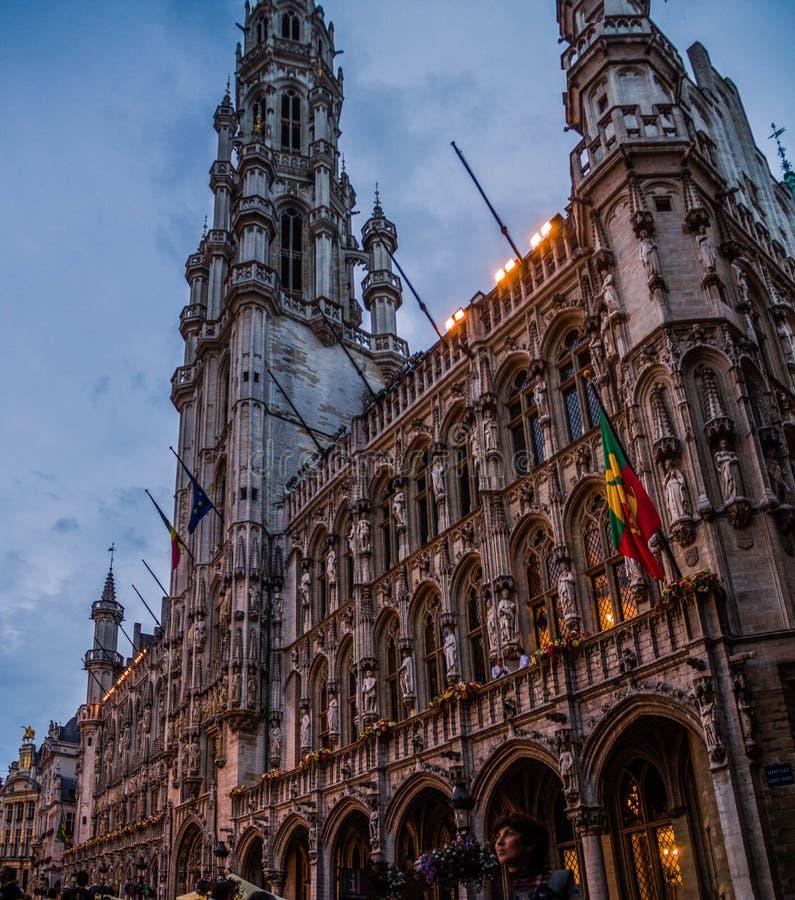 Wien stad Hall Wiener Rathaus arkivbild