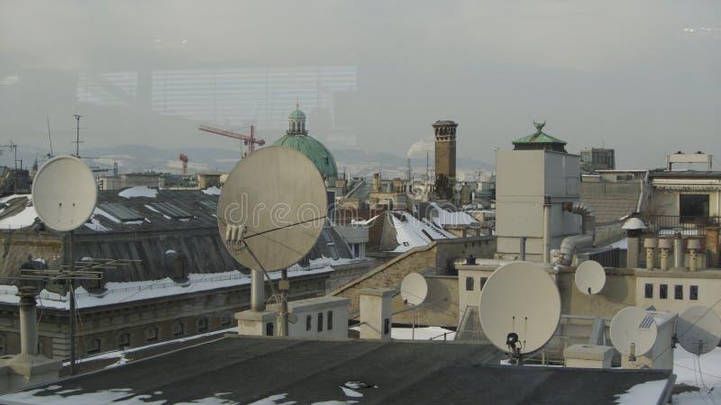 Wien tak royaltyfri foto