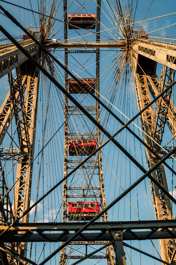 Download Wiener Riesenrad stock image. Image of wien, wheel, carnival - 83713523