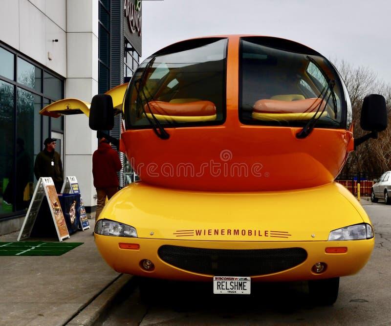 Wienermobile #1 fotografie stock