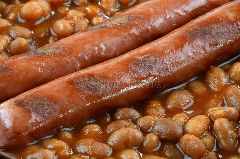 Download Wieners and beans stock image. Image of dinner, comfort - 28964255