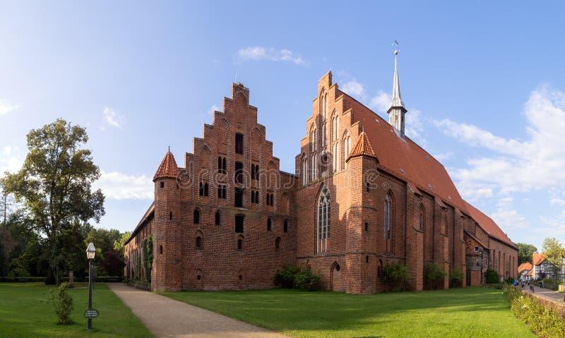 Wienhausenabdij in Celle, Duitsland royalty-vrije stock afbeelding