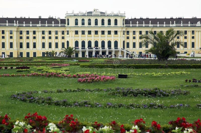 Wiens Schloss schonbrunn lizenzfreie stockfotografie