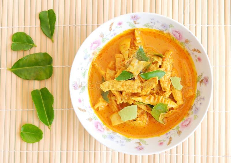 Wieprzowina curry zdjęcia stock