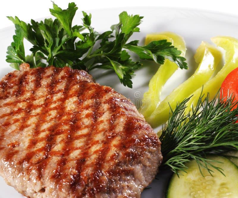 wieprzowina stek obraz royalty free