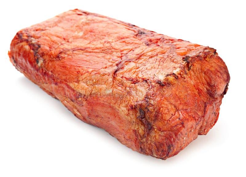 Wieprzowiny uwędzony mięso zdjęcie stock