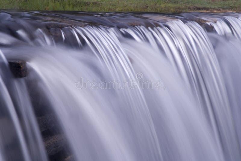 Wier waterfall 2 royalty free stock photos