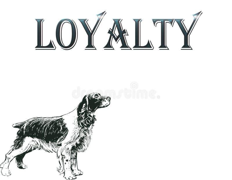 wierny pies portret pozycja w profilu psie, odosobniona ilustracja w czarnym kolorze na białym tle ilustracji