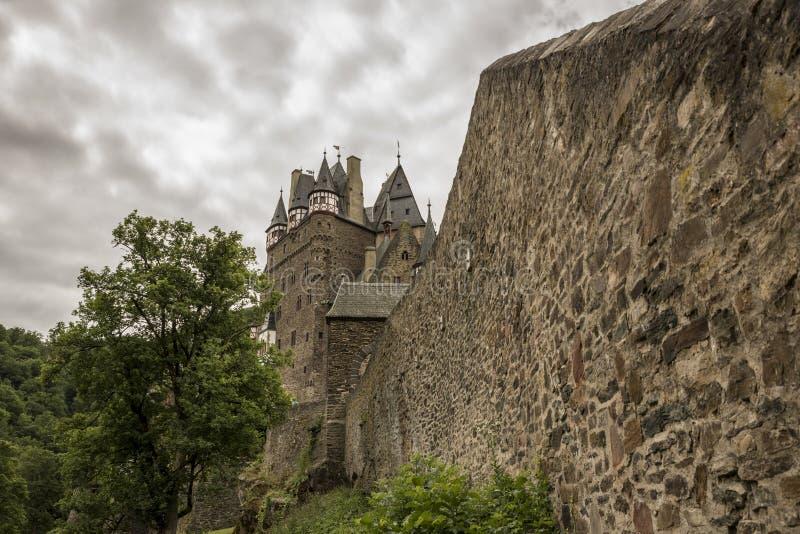 WIERSCHEM, ALLEMAGNE, LE 30 JUIN 2017 : Burg Eltz au Rhénanie-Palatinat photographie stock