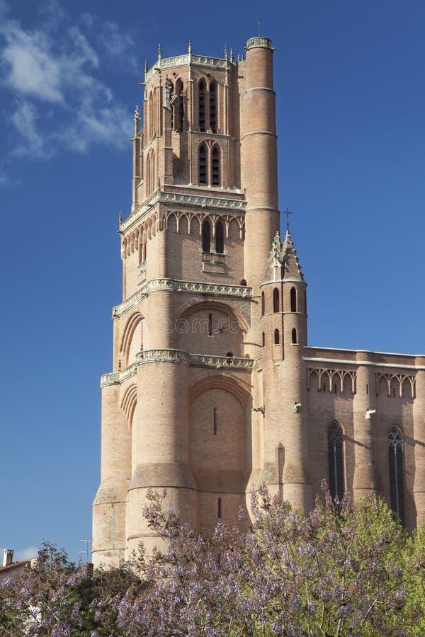 Wierza Albi katedra fotografia royalty free