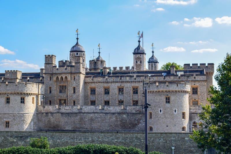 Wierza Londyn w górę widoku fotografia royalty free