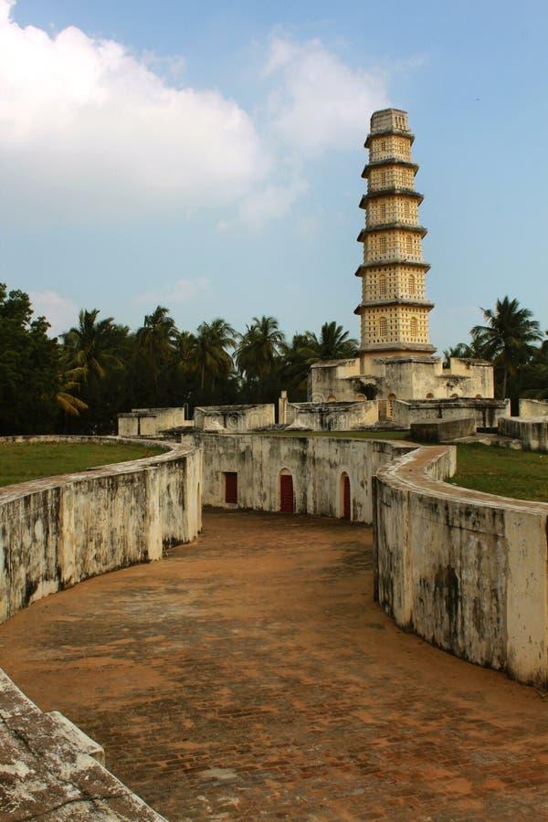 Wierza Manora fortu wejścia ścieżka zdjęcie royalty free