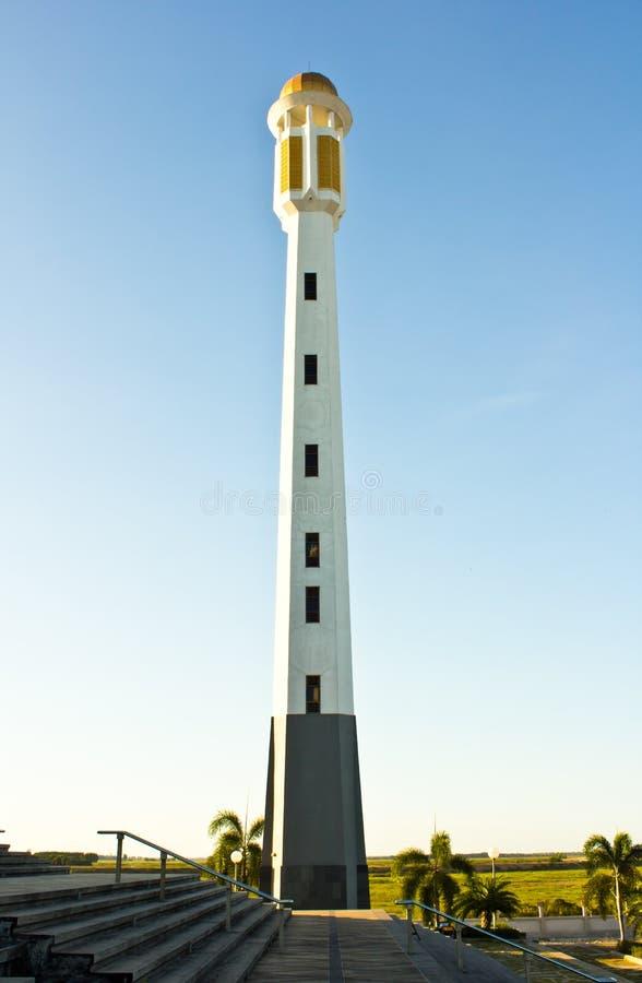Wierza meczet zdjęcie royalty free