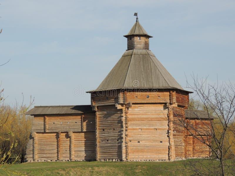Wierza od Sumskoy Ostrog fortecy zdjęcia stock