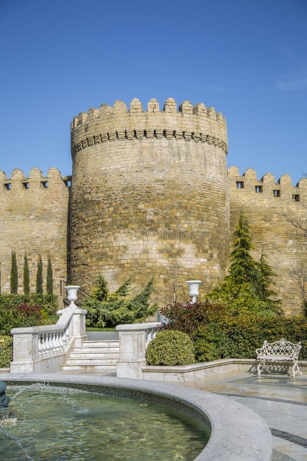 Wierza w Baku fotografia stock