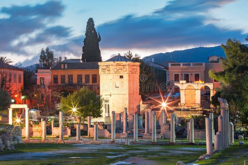 Wierza wiatry w Ateny, Grecja zdjęcie stock