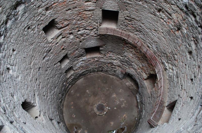 Download Wierza z well więzieniem zdjęcie stock. Obraz złożonej z zabytki - 57658940