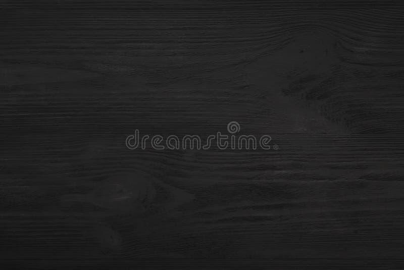Wierzch, odgórny widok czarny drewniany blackboard tło w starym obraz stock