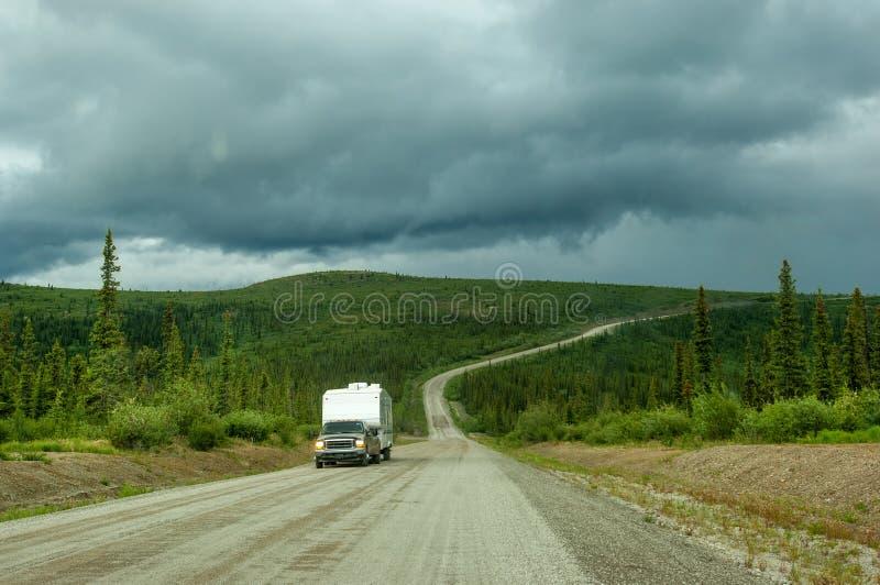 Wierzchołek Światowa autostrada obraz royalty free