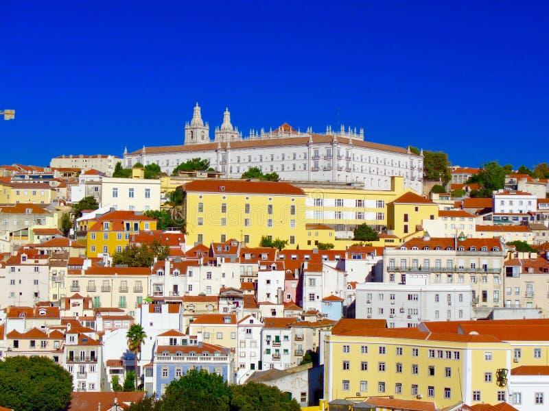 Wierzchołka widok Lisbon, Portugalia obrazy stock