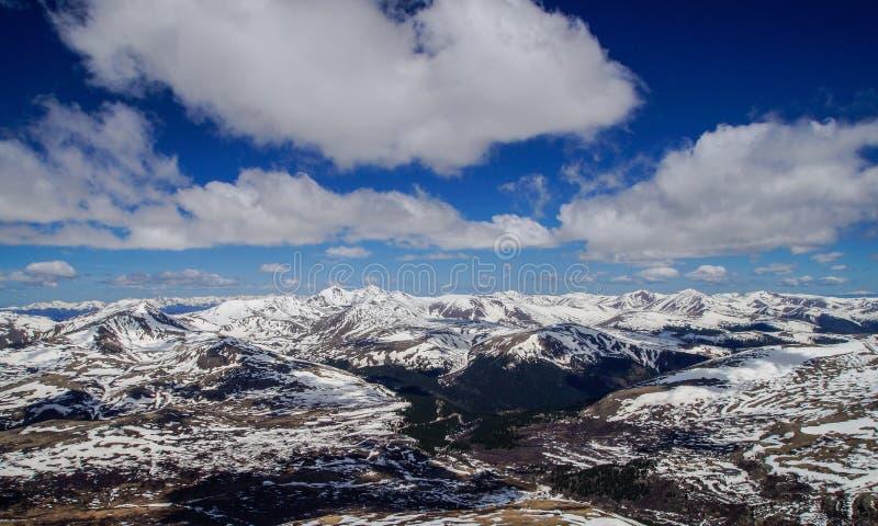 Wierzchołek góra Bierstadt zdjęcie stock