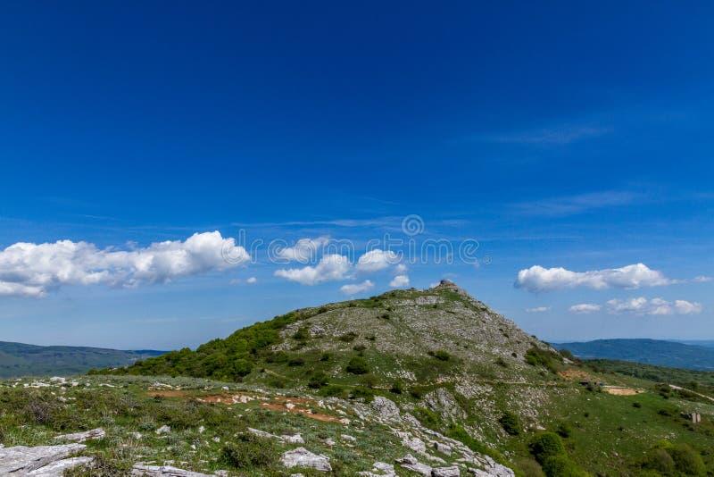 Wierzchołek Monte Labbro obrazy stock