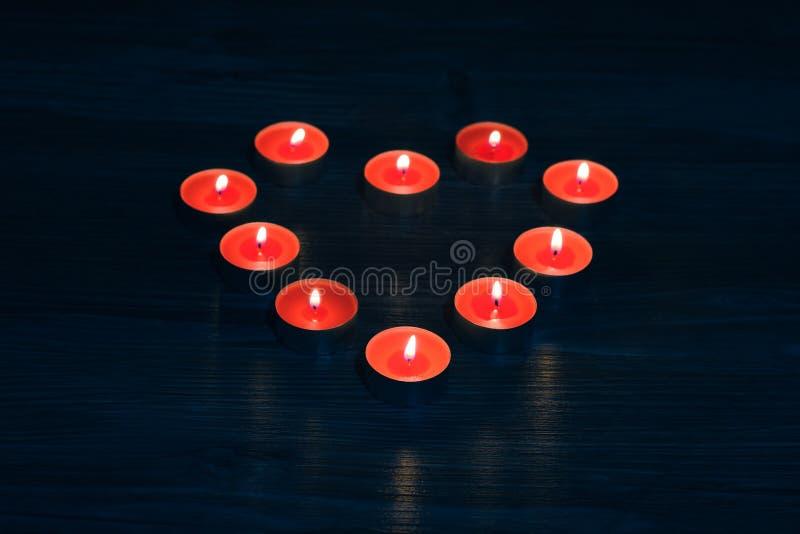Wierzchołek nad koszt stały zakończenie w górę widok fotografii beaut5iful cudowne wymarzone marzycielskie świeczki w kształcie o obrazy royalty free