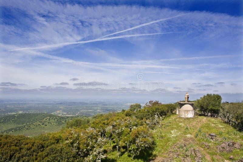 Wierzchołek wzgórze zdjęcie stock