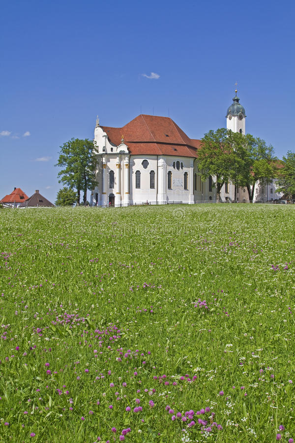 Download Wies church stock image. Image of upper, style, steingaden - 25658949