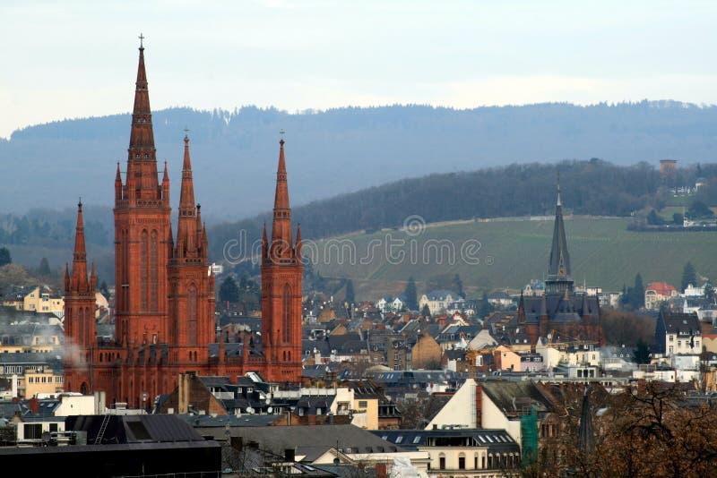 Wiesbaden stock foto's