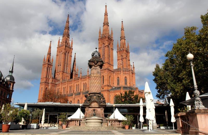 Wiesbaden royalty-vrije stock fotografie