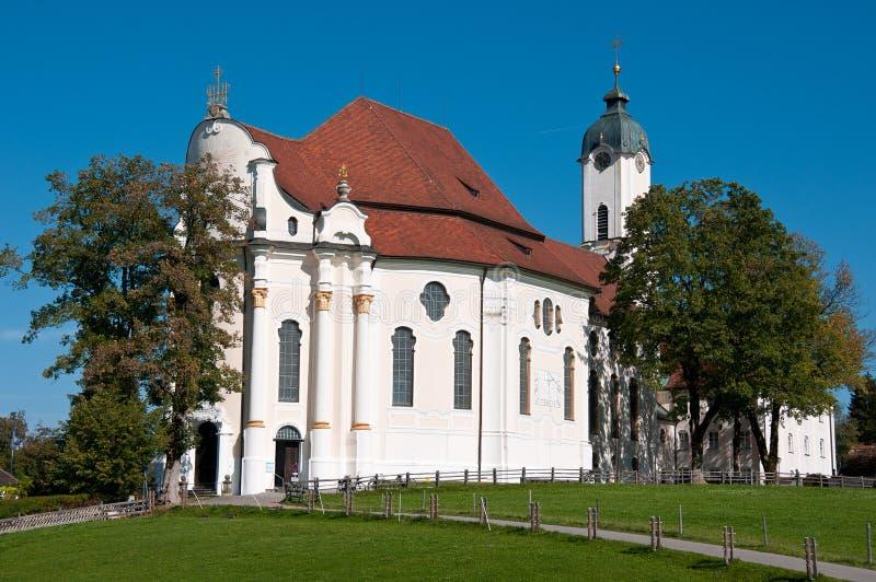 Wieskirche stockbilder