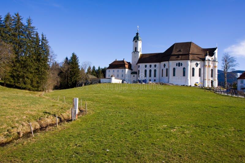 Wieskirche sancturary stockfoto