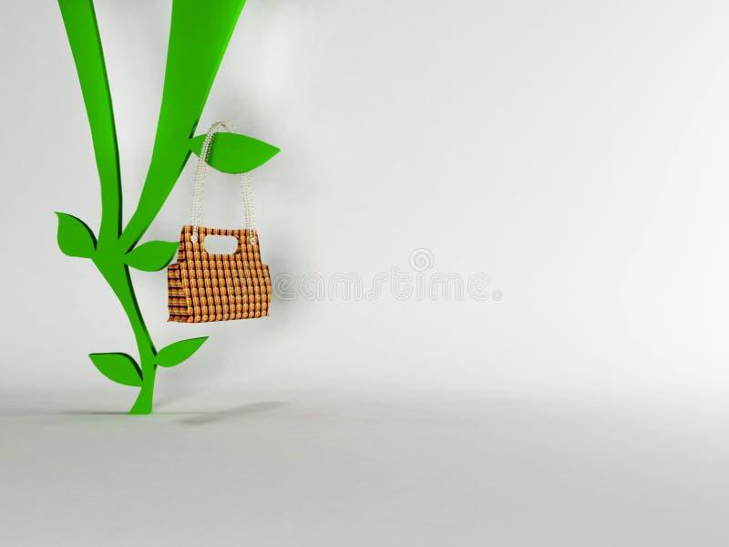 wieszaka ciekawe torby ilustracja wektor